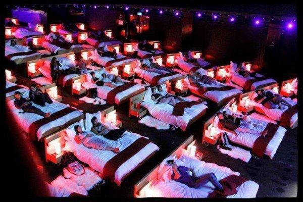 Le cinéma le plus confortable du monde