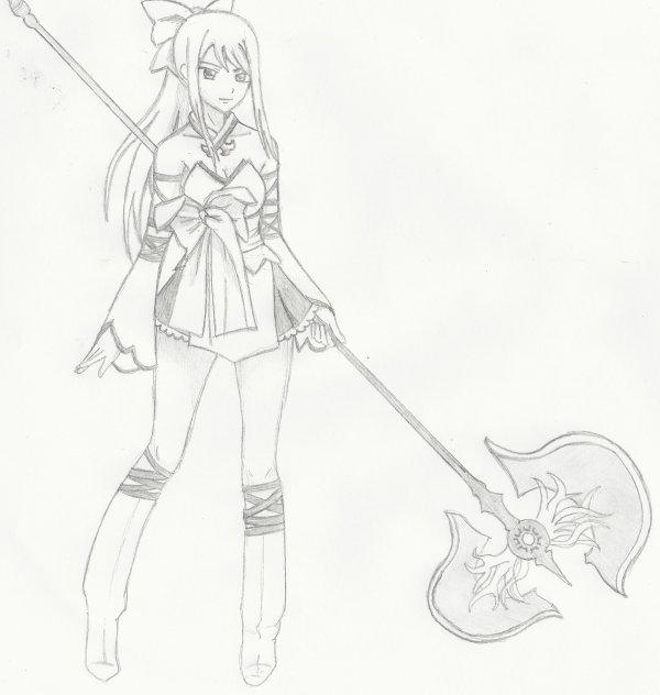 Fan art n°17 : L'armure des mercenaires
