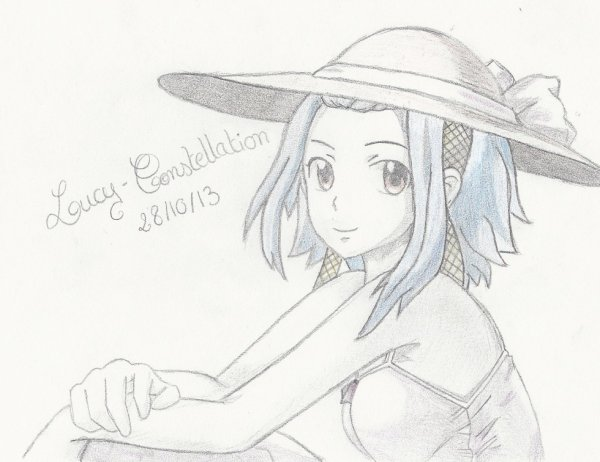 Fan art n°26 : Levy au chapeau de paille