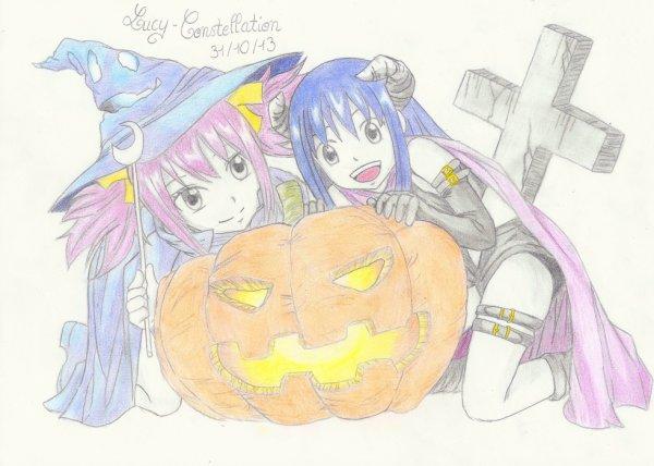 Fan art n°31 : Spécial Halloween !!!!