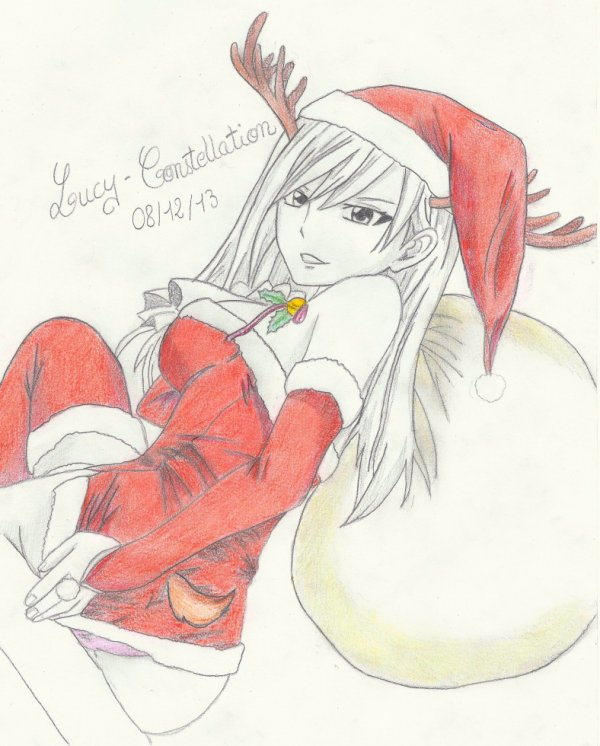 Fan art n°34 : Merry Christmas Erza