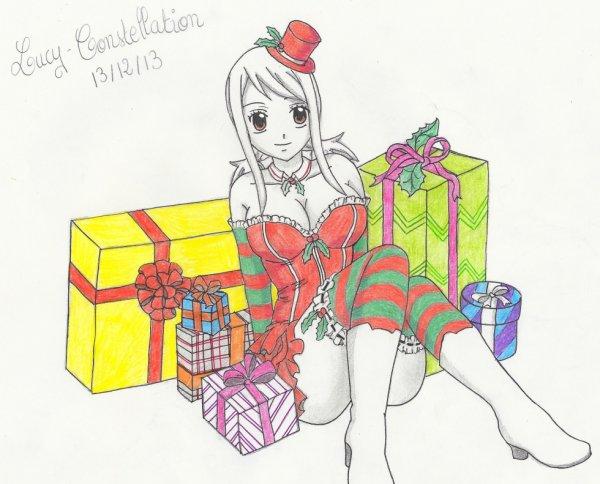Fan art n°37 : Cadeaux de noël