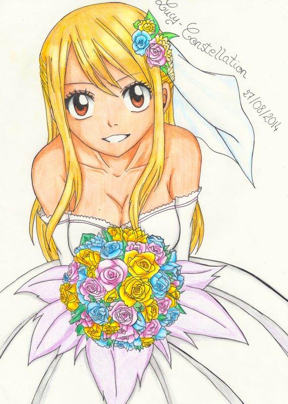 Fan art n°62 : Lucy épouse moi !!!