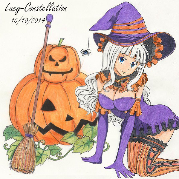 Fan art n°72 : Halloween avec Mirajane.
