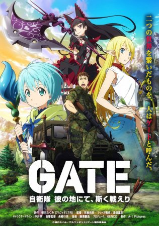 Gate: Jiei-tai Kanochi nite Kaku Tatakaeri