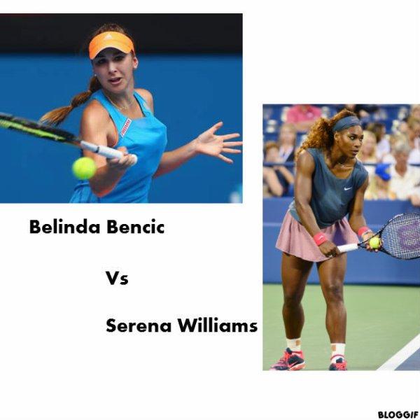 Serena Williams , une serieuse concurrente au premier tour !