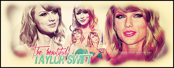 ● ● ● Bienvenue sur TaylorsSwift, fansource sur la belle Taylor Swift ! ● ● ● Viens dès maintenant découvrir tous ce qu'il faut connaître sur cette jeune et magnifique chanteuse!