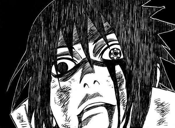 Karin est partie et sasuke devient completement fou allié