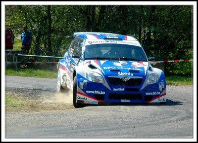 SKODA FABIA WRC MISTERS FREDDY LOIX