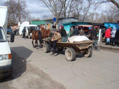 Le marché de Tchopovitchi