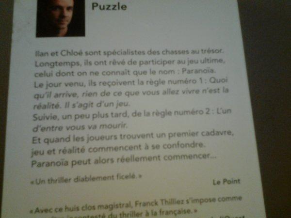 Puzzle, ce livre est flippant