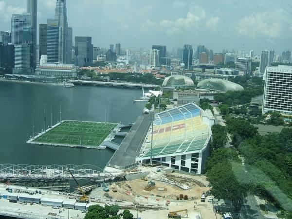 Beauté du monde : Le stade flottant de Singapour
