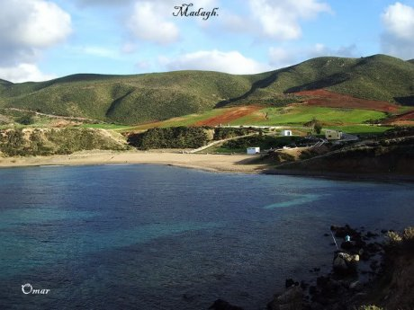 Madagh ( parmis les plage d'oran )