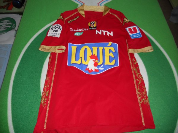 ~ Maillot MUC 72 porté par Roland Lamah en Ligue 1 Saison 2009/2010.