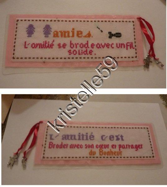 Marque Page Amitié