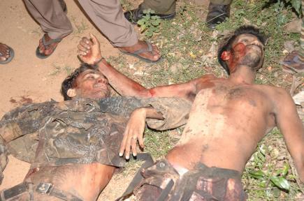 Contrecarré blessant de SLA, corps capturés - LTTE