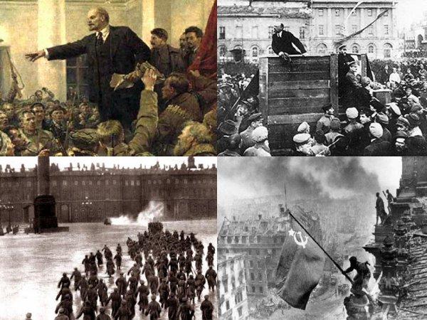 La révolution d'octobre en tant qu'une nécessité objective