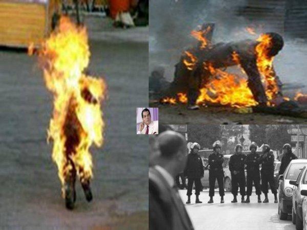 Les pauvres du Tunis se révoltent pour un morceau de pain