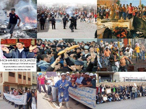 Les peuples des pays du Maghreb se révoltent après des années de souffrances
