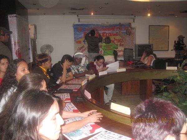 La conference mondiale des femmes de base à Venezuela 4 - 8 Mars 2011