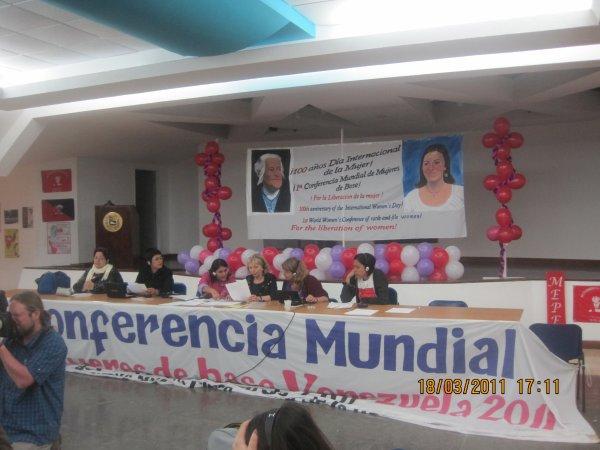 La conference mondiale des femmes de base à Venezuela 4 - 8 Mars 2011-4