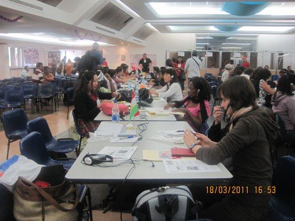 La conference mondiale des femmes de base à Venezuela 4 - 8 Mars 2011-5