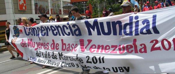 La conference mondiale des femmes de base à Venezuela 4 - 8 Mars 2011-6