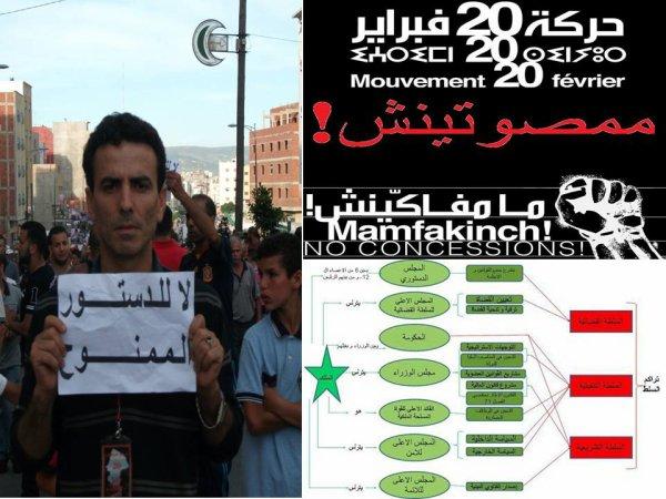 Les manifestations du mouvement de 20 février de dimanche 19 juin 2011