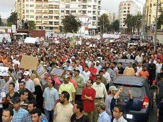 Les manifestations du mouvement de  17 et 18 septembre 2011