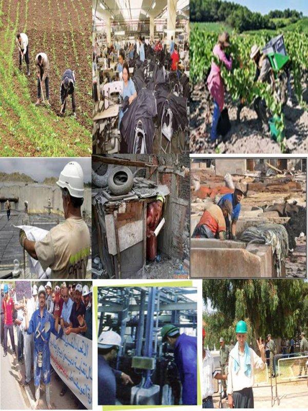 الطبقة العاملة المغربية: انتاج غزير وبؤس عظيم