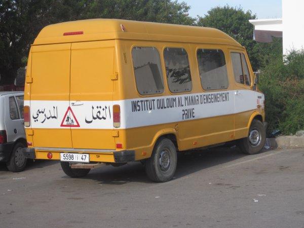 استغلال حافلة للاطفال لجلب عمال مغرر بهم أو بلطجية من مدن أخرى