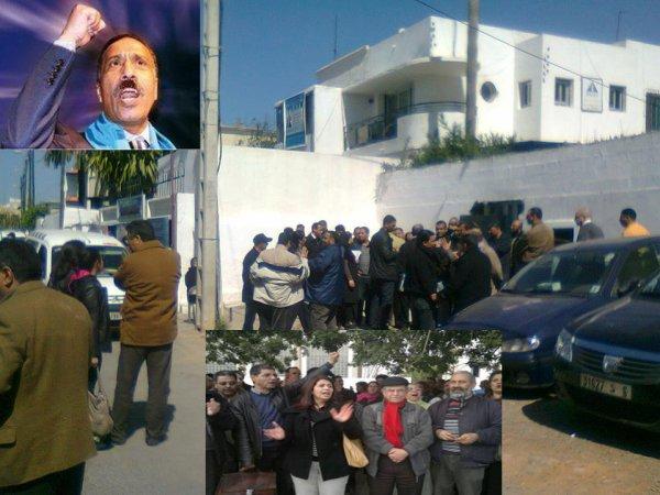 دكتاتورية البيروقراطية المتعفنة بالاتحاد المغربي للشغل