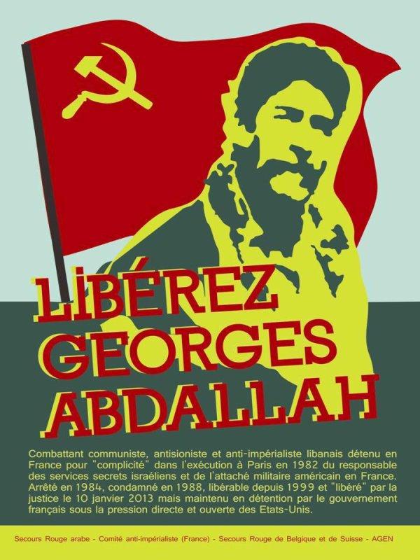 اطلقوا سراح الرفيق جورج ابراهيم عبد الله