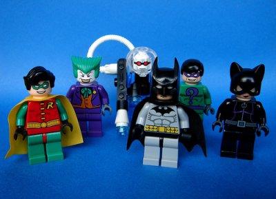 Code de jeux vidéo: Lego Batman
