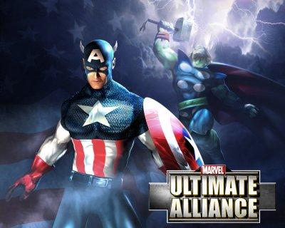 code de jeux vidéo : Marvel Ultimate Alliance