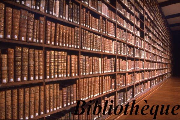 sommaire : Bibliothèque