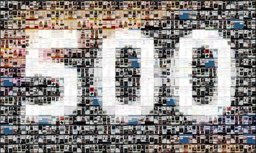500 commentaires