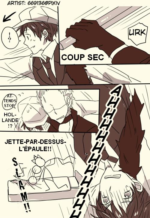 [APH doujinshi] Hetaween Parody