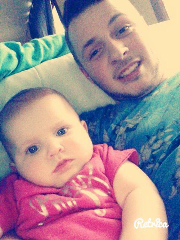mon homme et ma fille loanna <3