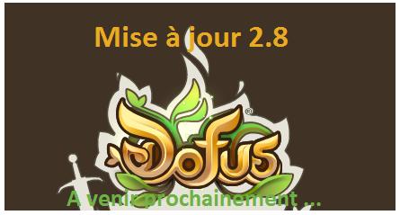 News mise à jour 2.8 et 2.9
