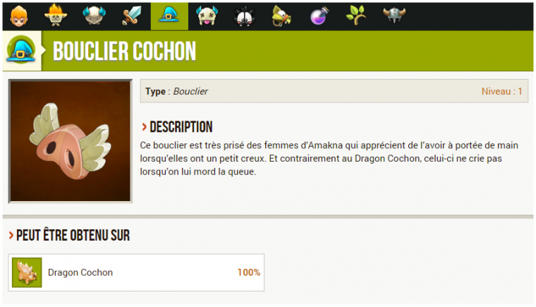 Mini-Event : le bouclier Cochon !