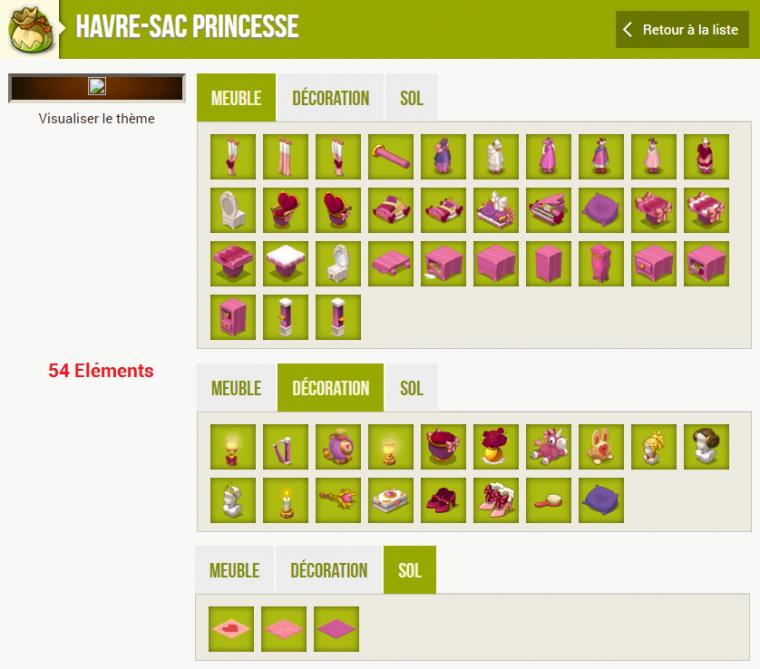 Les prochains Havre-Sac qui seront ajoutés en jeu !