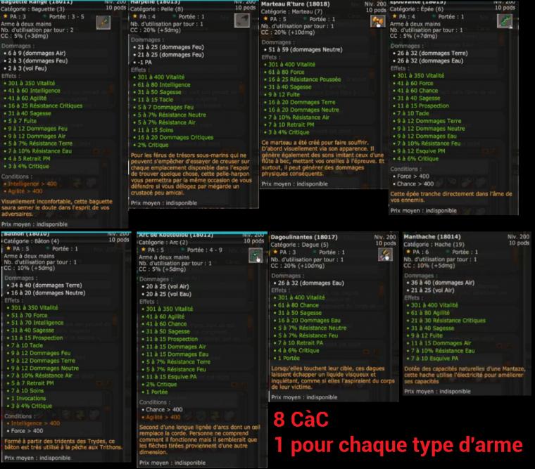 DOFUSLIVE sur la MAJ 2.35 [Partie 2/2] : Le Dofus Abyssal et les nouveaux équipements !