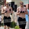 06 juin : Kellan a était aperçu ce lundi faisant son Footing matinal torse nue dans les rues de Santa Monica