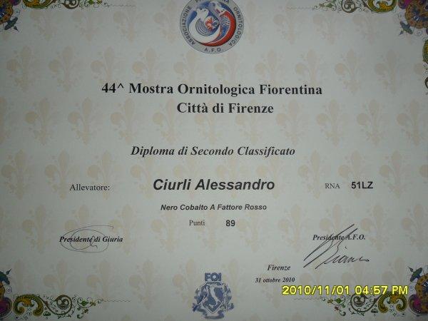 Mostra ornitologica nazionale Firenze