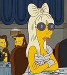 """Lady Gaga Chez """"Les Simpson"""""""