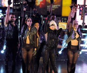 Lady Gaga fête Nouvel An à Times Square