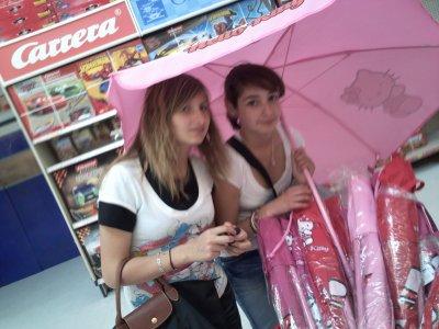 Ma chouquette (Alicia) && moi =)