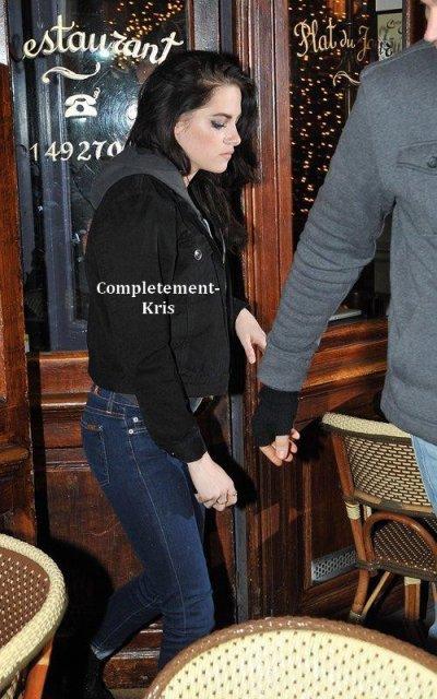Kristen est à paris pour un photoshoot avec Karl Lagerfeld ♥