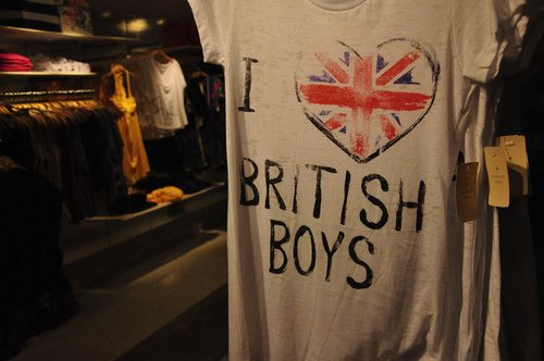 Chapitre 3 : I love English Boys.